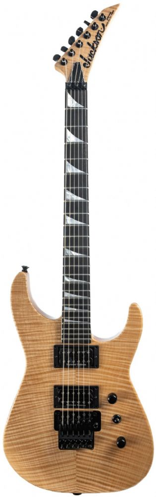Jackson USA Select Soloist SL2H, Natural Flame, Ebony Fingerboard